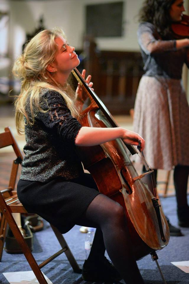 Christmas Concert, Rosslyn Hill Chapel, December 2015 - photo by Emma Werner