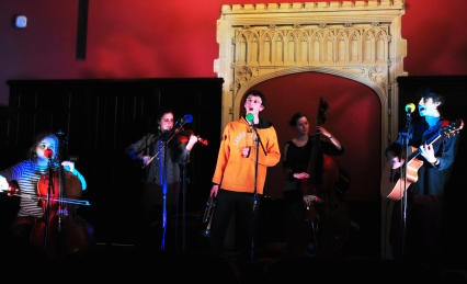 St John's Divinity School Theatre, Cambridge, March 2013 - Photo by Dennis Harrison